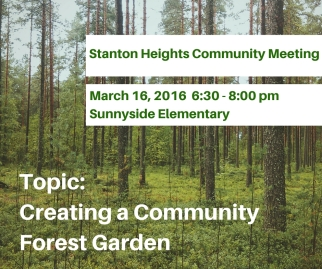 Stanton Heights Community MeetingMarch 16, 2016-1